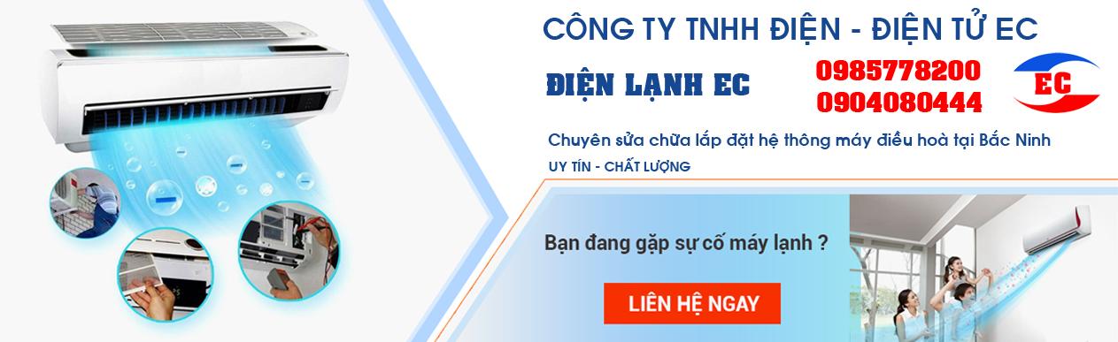 Sửa chữa điều hoà, lắp đặt máy điều hoà tại Bắc Ninh uy tín giá rẻ