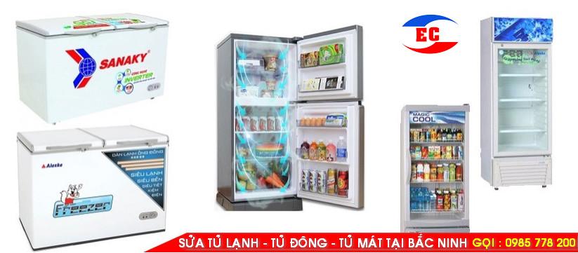Sửa tủ lạnh lại nhà ở Bắc Ninh, Chúng tôi chuyên sửa chữa tủ lạnh ,tủ mát, tủ đông của các hãng