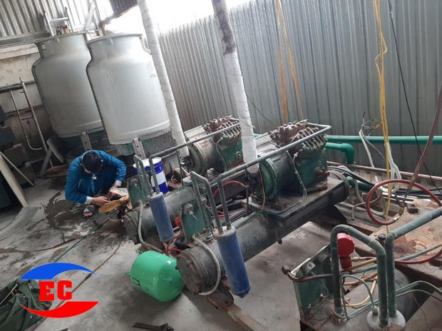 Công ty điện tử điện lạnh EC chuyên thi công và sửa máy lạnh chiller tại Bắc Ninh, Dịch vụ bảo dưỡng Chiller, bảo trì hệ thống chiller uy tín, chuyên nghiệp